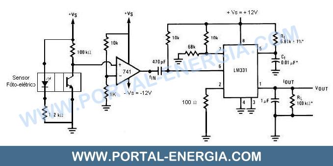 Esquema Electrico Anemometro