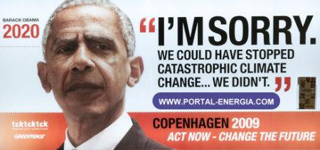 Alterações Climáticas Barack Obama