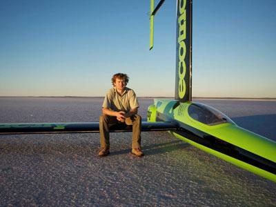 Green Bird Record Velocidade