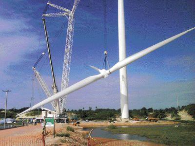 Espanhola Guascor parque eólico Argentina
