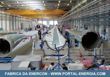Fabrica Enercon Viana Castelo
