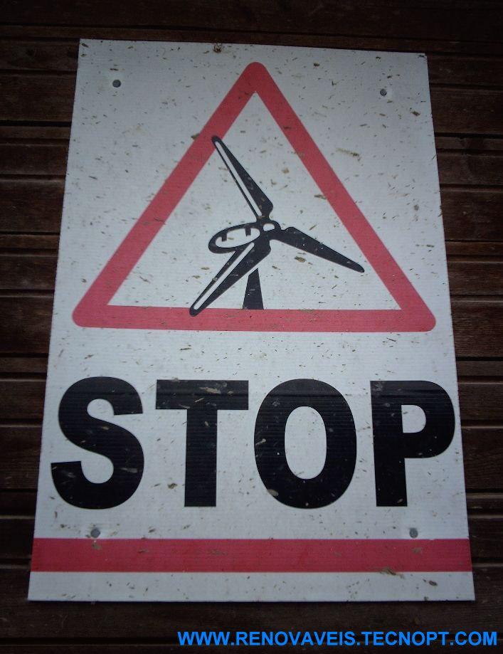 Agricultores Franceses contra os Parques Eólicos