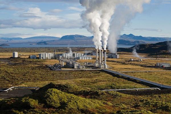 Energia geotérmica - Central Geotérmica