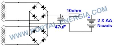 Micro-Aerogerador com motor passo a passo