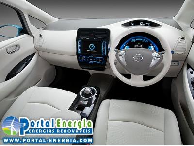 Nissan Leaf Painel Comando