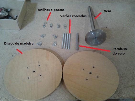 Construcao Pas Madeira para Aerogerador 13