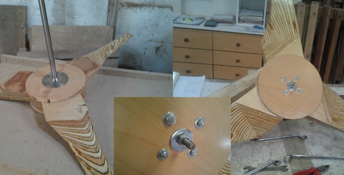 Construção Pás Madeira para Aerogerador