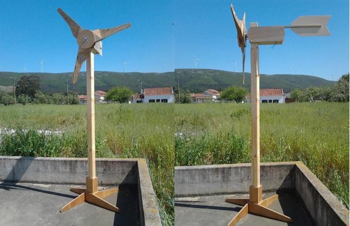 Construcao Pas Madeira para Aerogerador 20
