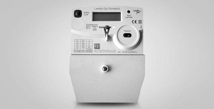 Contador eletricidade estático Landis & Gyr