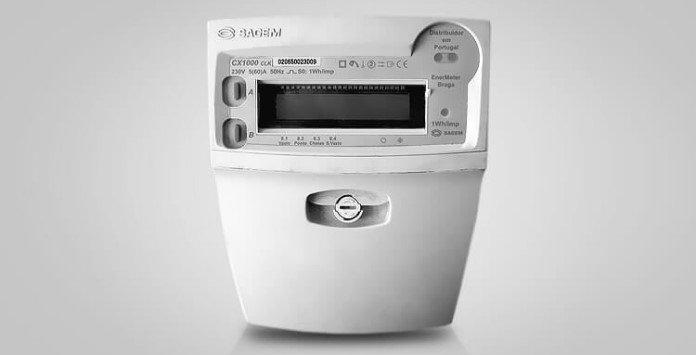 Contador eletricidade estático Sagem CX1000
