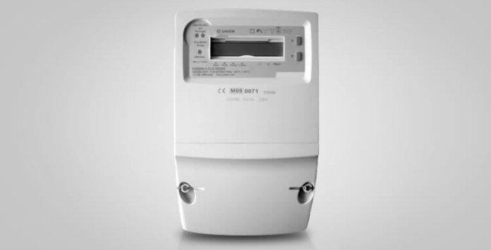 Contador eletricidade estático Sagem CX2000 (trifásico)