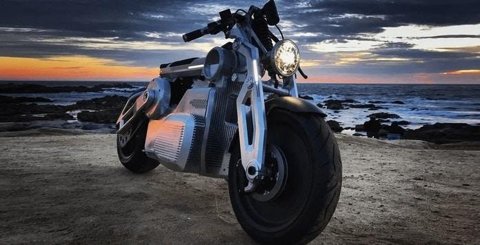 Moto Elétrica - Curtiss Motorcycles Zeus