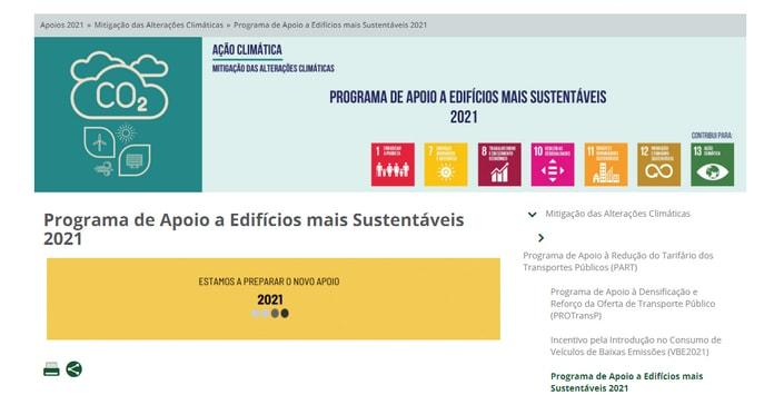 Programa Edifícios + Sustentáveis