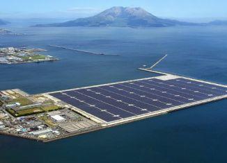 Kagoshima Nanatsujima Mega Solar Power Plant