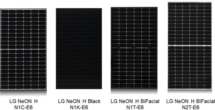 Painéis Solares LG NeON H