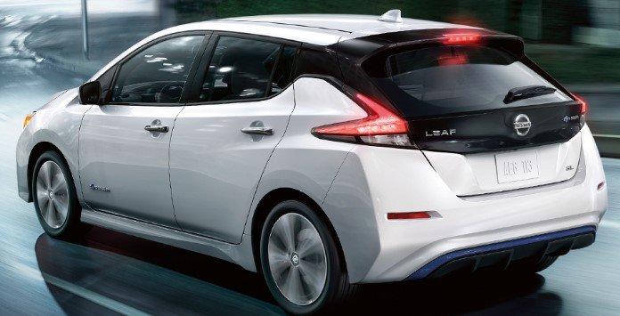 Carro elétrico Nissan Leaf