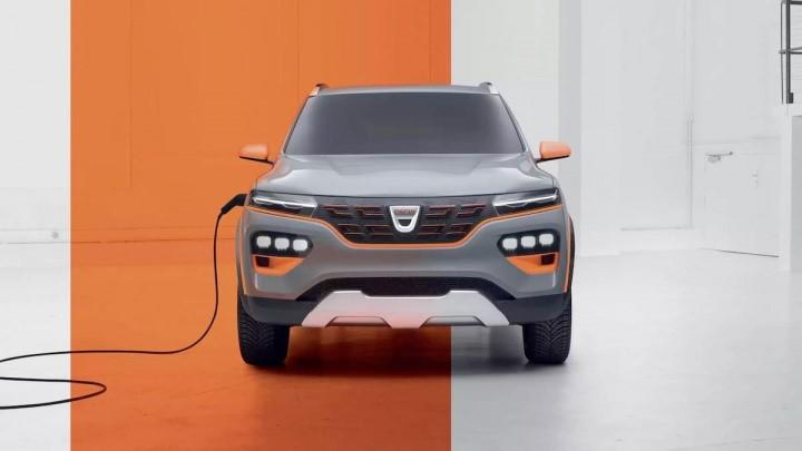Carro elétrico Dacia Spring Eletric