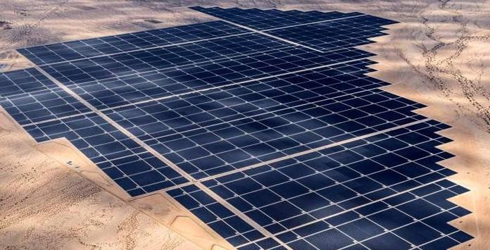 Parque Solar - Desert Sunlight - EUA