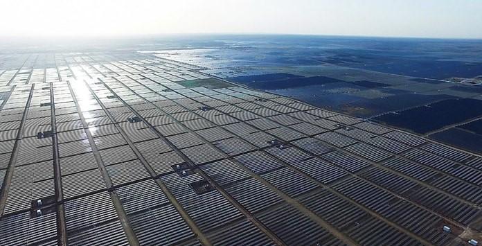Parque Solar - Nigxia Yanchi Fase I - China