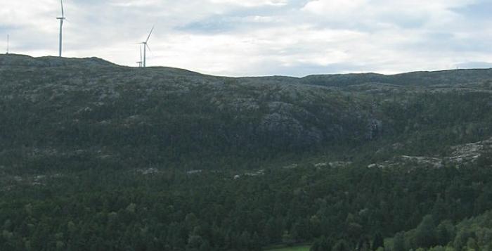Ilha de Hitra Energia Eólica