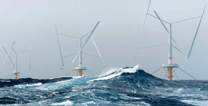 Turbinas eólicas offshore - Tecnologia Seatwirl