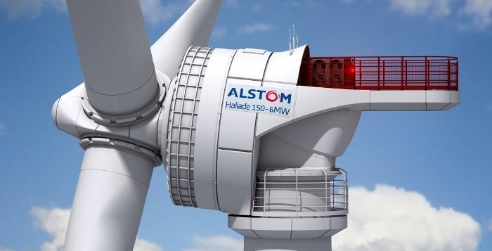 Aerogerador Offshore Alstom Haliade 150
