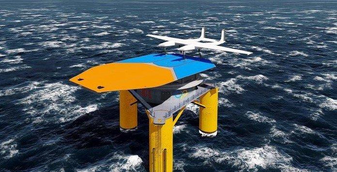 Energia Eólica Offshore - Ampyx Power AP4