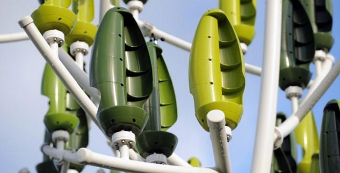 L'éolien 2.0 - a árvore que transforma energia eólica em eletricidade