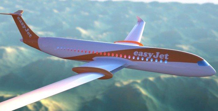 Avião Elétrico Easyjet