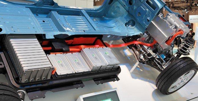 Baterias lítio carros elétricos