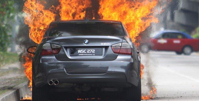 BMW Campanha Técnica - Incêndio