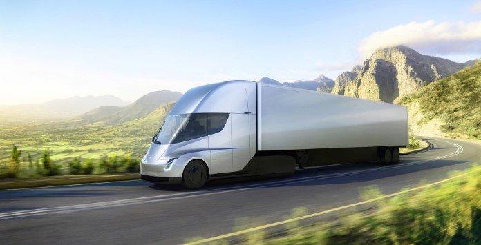 Camião eletrico Tesla