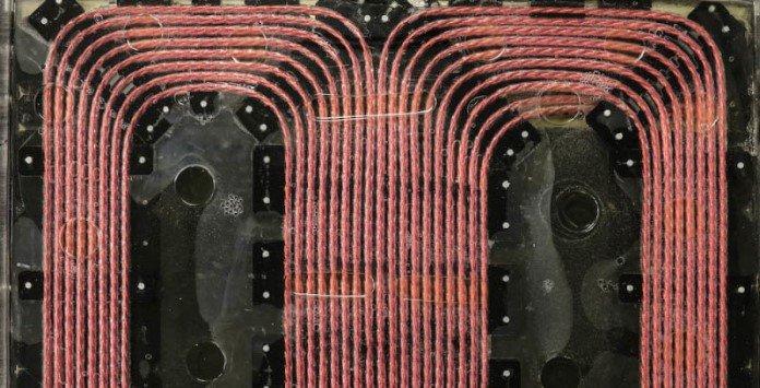 Carregar baterias carros elétricos sem fios - Bobines