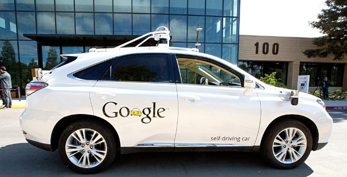 Carro Autónomo da Google - Lexus RX 450h