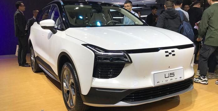 Carro Elétrico Chinês - Aiways SUV U5