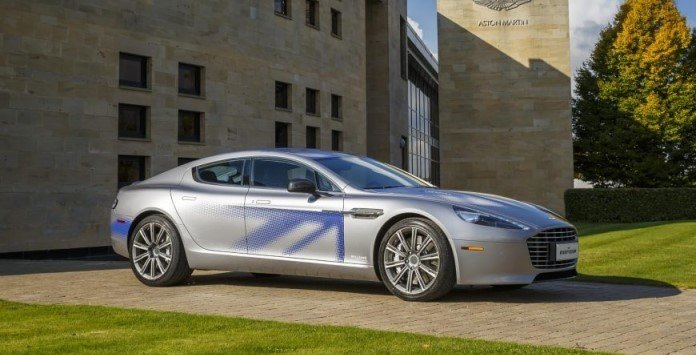 Automóvel elétrico - Aston Martin RapidE