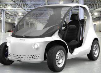 Carro Eletrico Brasileiro Mobilis LI