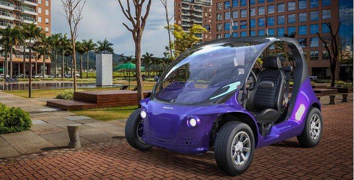 Carro Elétrico Brasileiro Mobilis LI