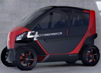 carro Elétrico - City Transformer