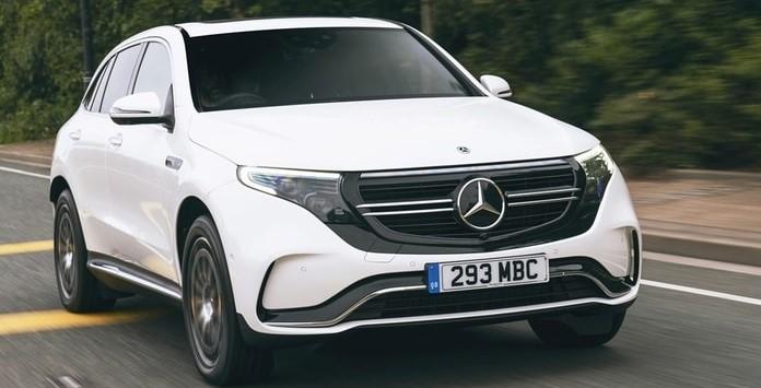 Carro Elétrico - Mercedes Benz EQC