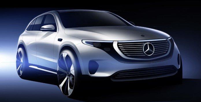 Automóvel elétrico - Mercedes EQC