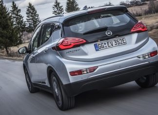 Novo modelo elétrico Opel Ampera-e