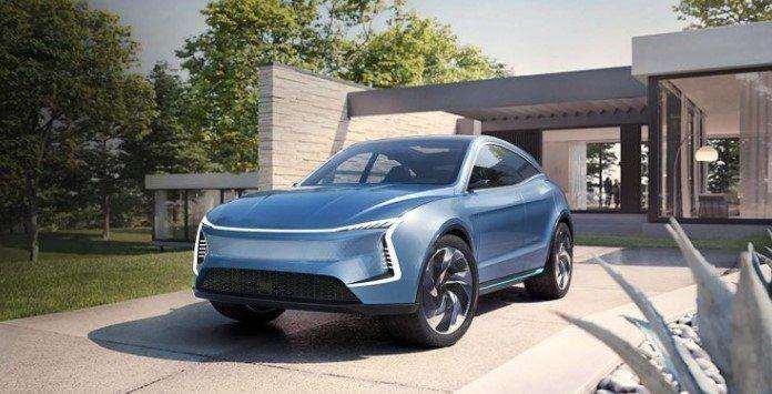 Automóvel elétrico - SF Motors SF5