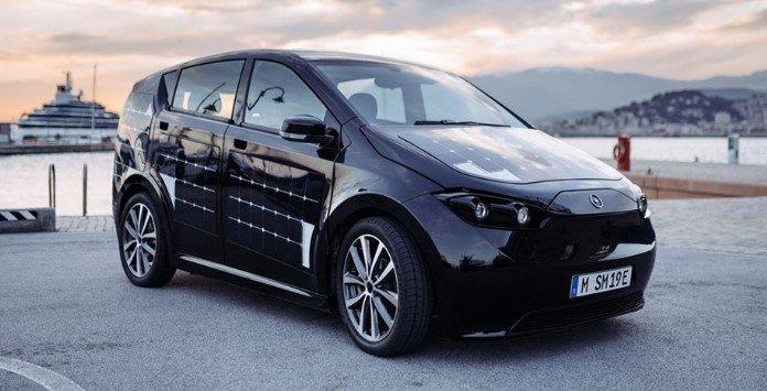 Carro elétrico Solar - Sono Motors Sion