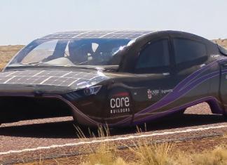 Carro Elétrico Solar Violet