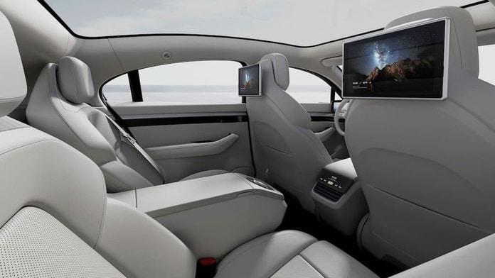 Carro Elétrico Sony VISION-S - Interior