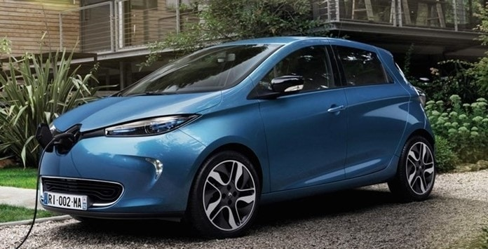 Carro Elétrico - Renault Zoe