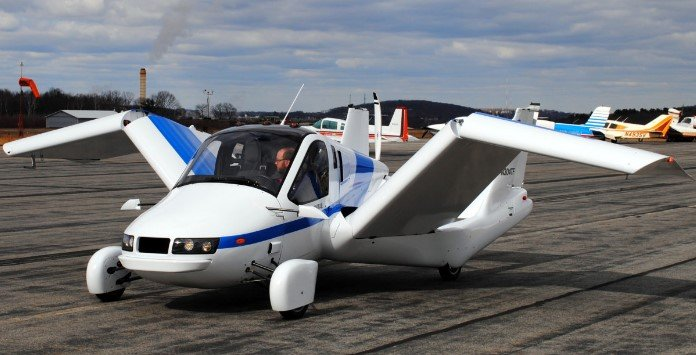 Carro Voador Transition - Terrafugia