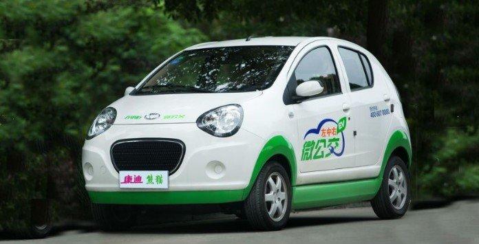 Carro elétrico Chinês - Kandi