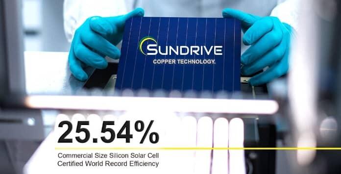 Célula Solar Fotovoltaica SunDrive
